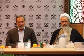 تصاویر/ نشست مشترک روسای ستاد همکاری های حوزه و آموزش و پرورش در مشهد مقدس