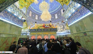سامرا لبریز از زائران امام حسن عسکری(ع) شد + تصاویر