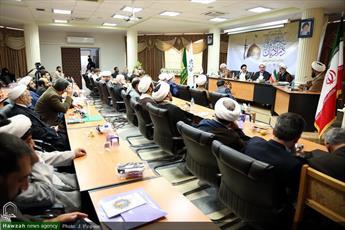 تصاویر/ پیش نشست تخصصی همایش بین المللی امام رضا(ع) و گفت وگوی ادیان