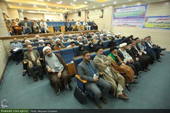 تصاویر/ اختتامیه دوازدهمین هم اندیشی ستاد همکاری های حوزه و آموزش و پرورش در مشهد
