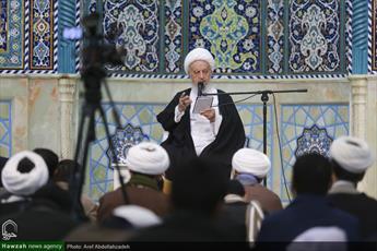 تصاویر/ درس اخلاق آیت الله العظمی مکارم شیرازی