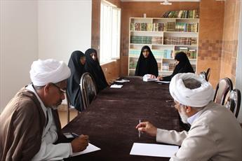 حوزه خواهران هرمزگان در زمینه « استاد»  خودکفاست
