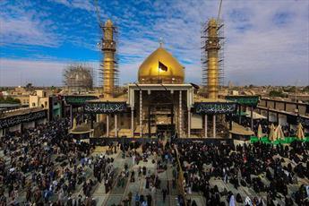 عتبات مقدس عراق خدمتگزار زائران پدر امام زمان(ع) شدند + تصاویر