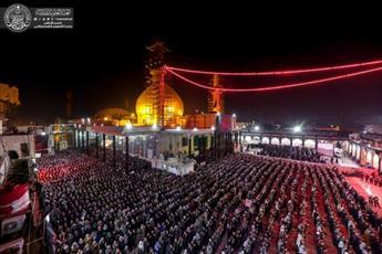 میلیون ها عزادار در جوار حرم امامین عسکریین (ع) حضور یافتند+تصاویر