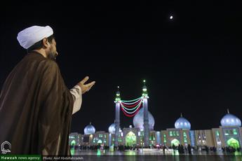 تصاویر/ همایش تجدید بیعت طلاب و روحانیون با امام زمان(عج) در مسجد مقدس جمکران