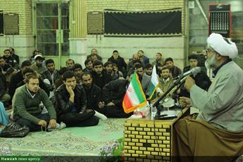 تصاویر/ نشست  دبیرکل مجلس وحدت مسلمین پاکستان با طلاب مقیم قم