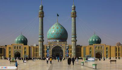 تصاویر/ مسجد مقدس جمکران از قاب دوربین عکاس آستان مقدس حسینی