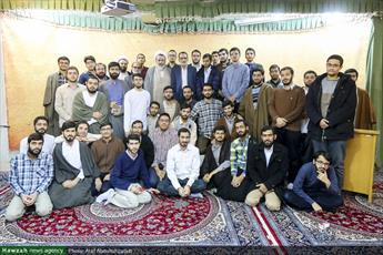 تصاویر/ نشست سیاسی «جریان شناسی مجلس شورای اسلامی» در مدرسه علمیه علوی قم