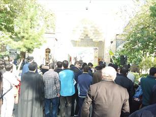 تجمع اعتراض آمیز طلاب مدارس علمیه تهران برگزار شد