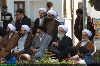 تصاویر/ تجمع طلاب و روحانیان حوزه تهران در حمایت از مردم مظلوم یمن