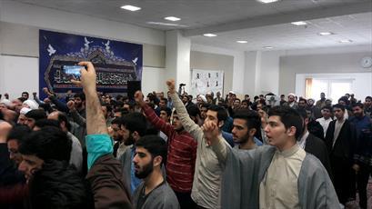 تجمع  طلاب و روحانیون گیلان در حمایت از  مظلومان یمن+تصاویر