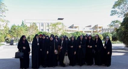 بازدید جمعی از دانشجویان دانشگاه مازندران از جامعهالزهرا(س)