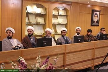 تصاویر/ نشست مدیران  کتابخانه های حوزه های علمیه