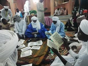 رسم جالب مسلمانان نیجر در جشن میلاد پیامبر(ص)