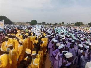 برگزاری پیاده روی خانوادگی در کشور مالی به مناسبت میلاد پیامبر(ص)+تصاویر