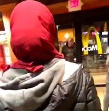 انتشار ویدئوی تهدید مسلمانان از سوی مرد نژاد پرست آمریکایی خبرساز شد