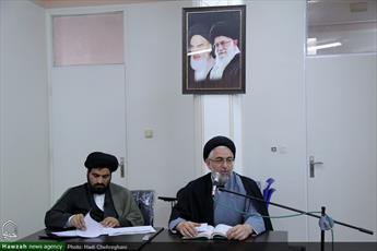تصاویر/ نشست الگوی ایرانی اسلامی پیشرفت در مدرسه عالی فقه و اصول