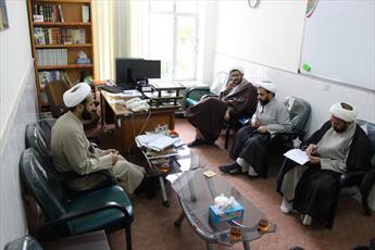 جلسه هماهنگی خادمان افتخاری حوزه و انقلاب اسلامی برگزار شد