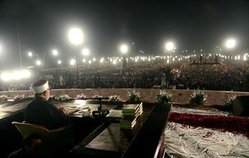 سی و پنجمین «کنفرانس میلاد پیامبر(ص)» در لاهور برگزار شد