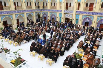 مدرسه علمیه جعفریه در سامرا بعد از بازسازی، افتتاح  شد + تصاویر