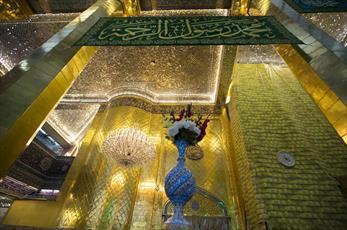 حرم حضرت اباالفضل العباس(ع) غرق در سرور و شادی شد+ تصاویر