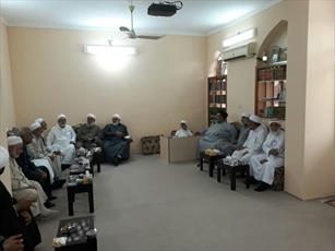 حضور روحانیون اهل سنت در مدرسه علی بن ابیطالب(ع) لارستان+ عکس