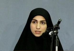 سخنرانی دختر عماد مغنیه در کمیسیون فرزندان شهدا/ اتحادیه فرزندان شهدای مقاومت تشکیل می شود