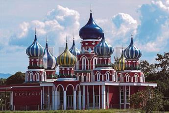 مسجد هشت گنبد در روستای مالزی به جاذبه گردشگری تبدیل می شود