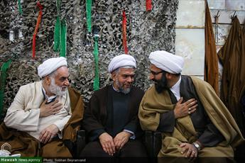 تصاویر/ یادواره ۱۳۵ شهید مدرسه علمیه آیت الله مجتهدی تهران