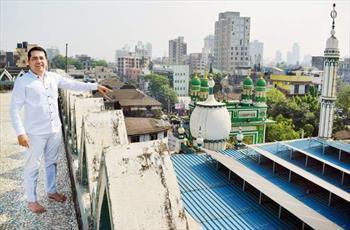 یک مسجد جامع در بمبئی به پنل های انرژی خورشیدی مجهز شد