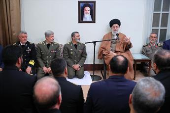 آمادگی و اقتدار نیروهای مسلح سایه تهدید را از سر ملت دور خواهد کرد