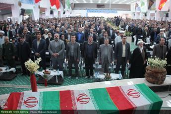 تصاویر/ اجلاسیه شهدای کشاورز در حسینیه جماران بیرجند