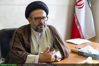 گزارشی از بازدید حجت الاسلام والمسلمین حسینی کوهساری از دو مرکز بین الملل حوزوی