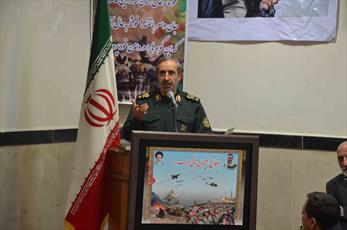 ترامپ از گام های استوار مردم ایران به خود لرزید