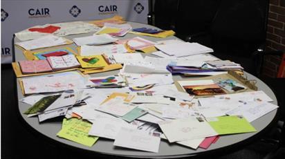 دختر مسلمان بیش از ۵۰۰ نامه حمایتی از نقاط مختلف آمریکا دریافت کرد