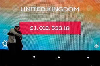 رکورد جدید ۱ میلیونی کمک های مالی دانشجویان مسلمان در بریتانیا  ثبت شد