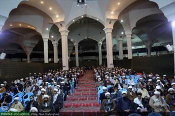 تصاویر/ گردهمایی طلاب و فضلای کرمانی مقیم قم