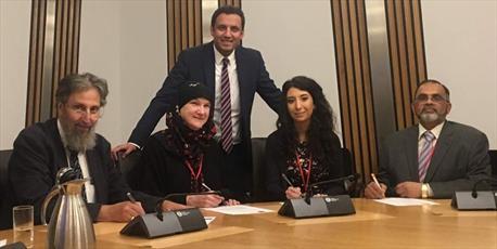 اعلام آمادگی مسلمانان و یهودیان اسکاتلند در مبارزه با نژادپرستی و اسلام هراسی
