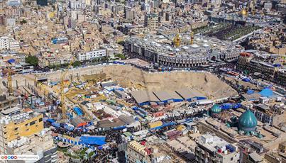 پروژه صحن حضرت زینب(س) مساحت حرم امام حسین(ع) را تا ۸ برابر افزایش می دهد+تصاویر
