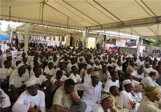 مسلمانان در تانزانیا، احداث مسجد جدید را جشن گرفتند