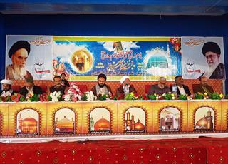 گردهمایی  جنبش اصغریه پاکستان با انتخاب رئیس جدید پایان یافت+تصاویر