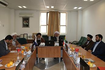 نشست مدیران ارشد مرکز خدمات و حوزه علمیه خواهران برگزار شد
