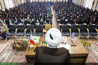 تصاویر/ همایش طلیعه حضور ویژه طلاب جدیدالورود حوزه علمیه خواهران مازندران