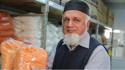 فعالیت بانک های غذایی اقلیت های مسلمان تورنتو در فصل سرما