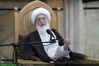 آیت الله العظمی نوری همدانی حمله آمریکا به حشدالشعبی عراق  را محکوم کردند