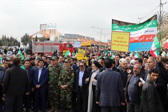 مسیرهای یازدهگانه راهپیمایی ۲۲ بهمن در قم اعلام شد
