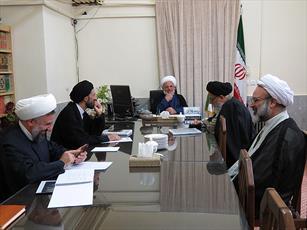 جلسه شورای حوزه علمیه استان یزد برگزار شد