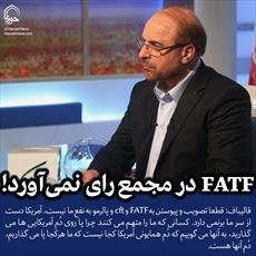 عکس نوشته/  FATF در مجمع رای نمیآورد
