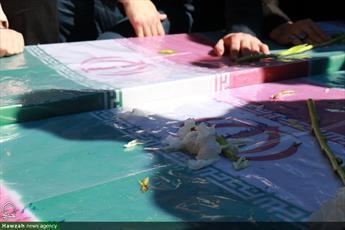 روحانی شهیدی که پیکرش  پس از ۱۳سال به زادگاهش منتقل شد