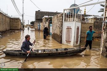 صدها خانه به زیرآب رفتهاند/ برخی از مردم حتی آب خوردن هم ندارند